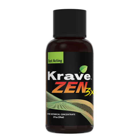 Krave Zen 3X shot A pure Botanical Contrate 2fl