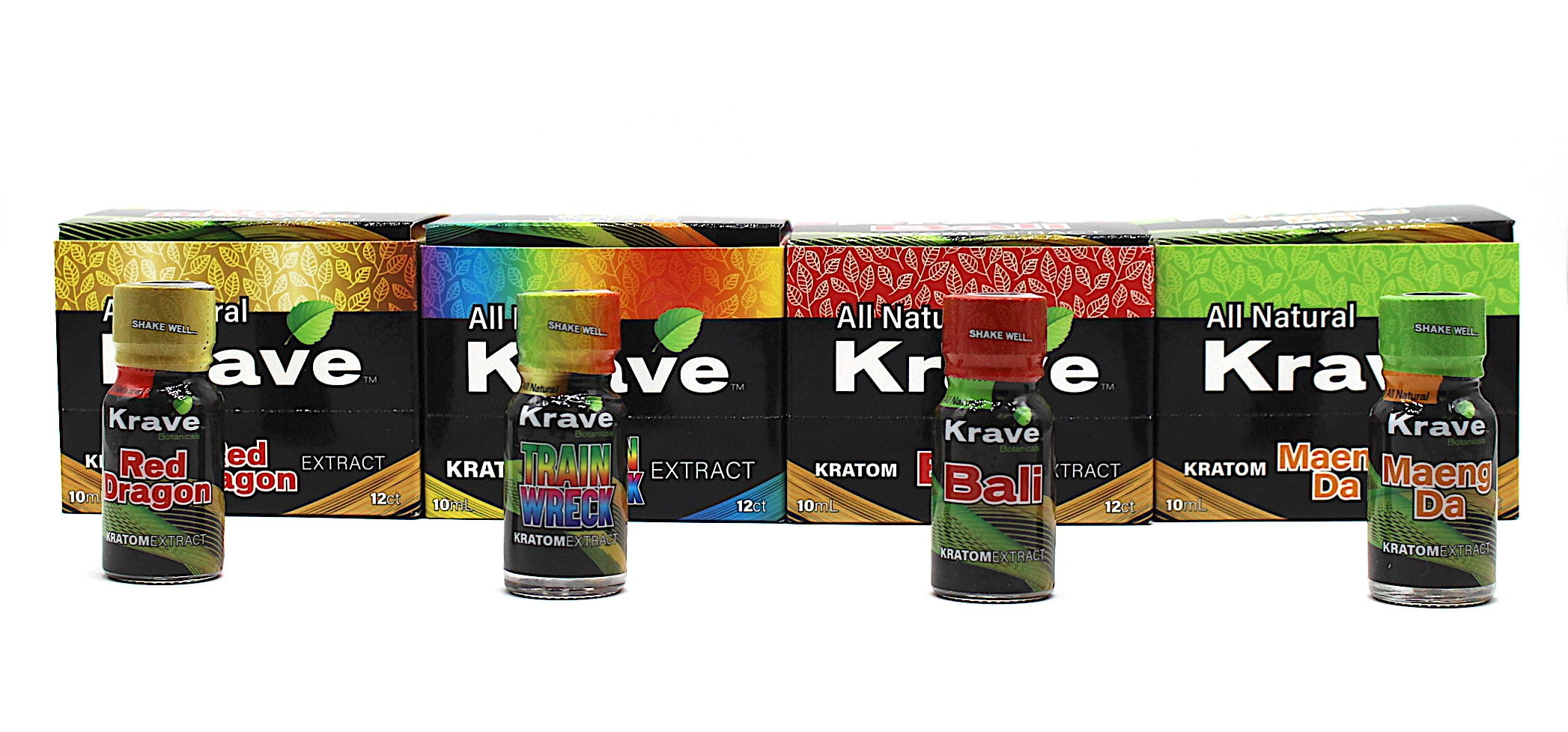 Krave Extract Shot 10ml (12 per case) Available in 4 strains