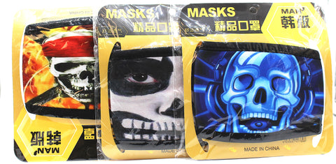 MASKS CLOTH MATERIAL Characters  Designed (20pcs)