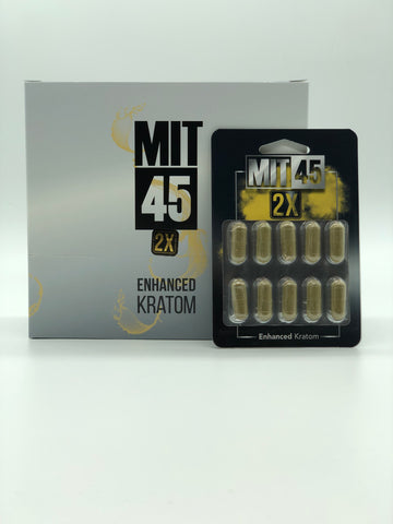 Mit 45 Kratom Extract 2x Extra Strenght Capsules (SELECT PIC FOR MORE OPTIONS)