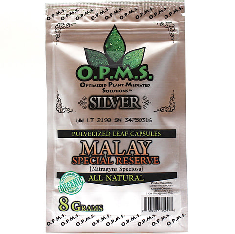 OPMS  Silver- 8 grams (16 caps) (SELECT PIC FOR MORE OPTIONS)