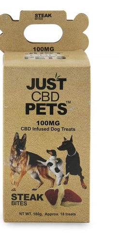JUST CBD Dog Treats 100mg (SELECT PIC FOR MORE)