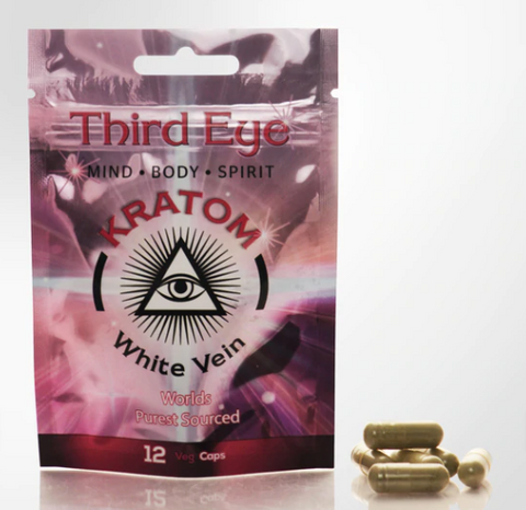 Third Eye Capsules Display (Box of 12 with 12 Ct each)
