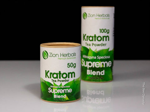 Zion Herbals Supreme Blend Kratom Powder