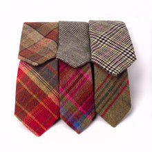 Load image into Gallery viewer, Tweed Ties, Classic Green Islay Tweed (Bottom Right)