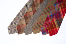 Load image into Gallery viewer, Tweed Ties - Pink Islay Tweed (Bottom Centre)