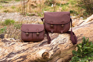 Game Bag - Brown Leather