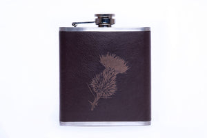 Engraved Stainless Steel Hip Flask