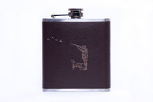 Load image into Gallery viewer, Engraved Stainless Steel Hip Flask