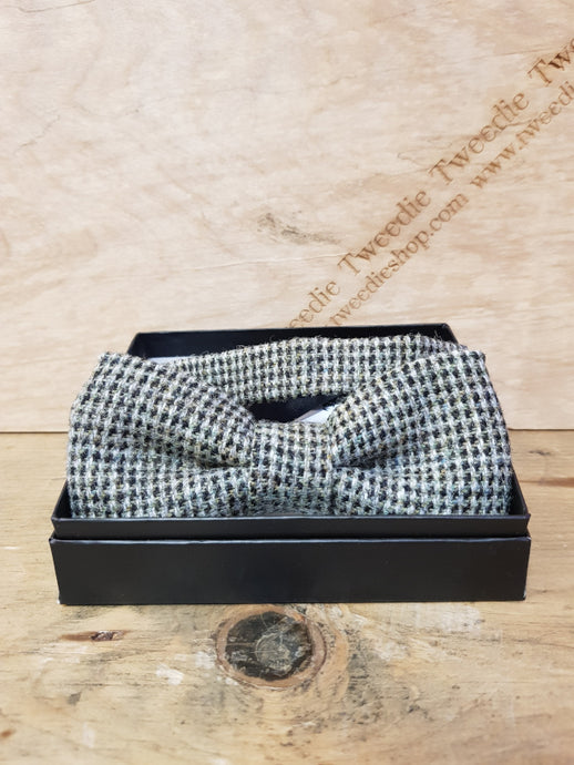 Tweed Bow Ties - Grey Islay Tweed