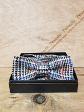 Load image into Gallery viewer, Tweed Bow Ties - Glen Red Islay Tweed
