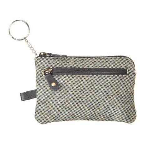 Key/ Coin Purse  - Prince of Wales Tweed