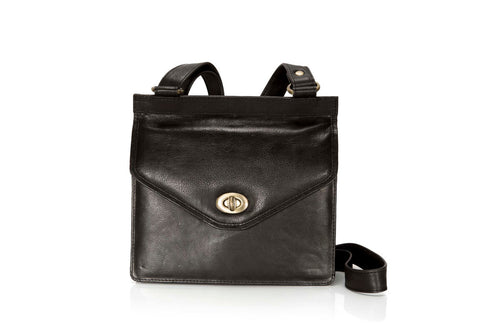 Blair Bag - Black Leather