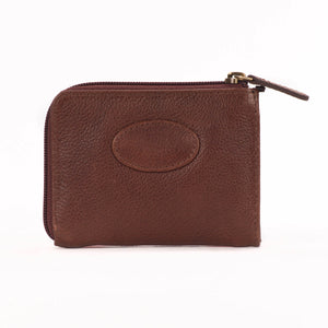 Pass Holder - Black Leather