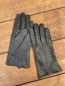 Fyne Classic Studded Leather Gloves