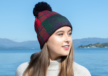 Load image into Gallery viewer, Lindsey & Campbell British Hat with PomPom