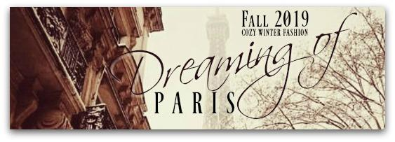 Style Blog: Cozy Fall/Winter 2019 Fashion & Dreaming of Paris! - Gem Box Accessories