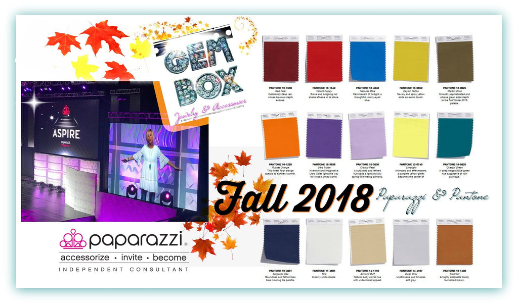 Fall 2018 Fashion Report with Paparazzi & Pantone! - Gem Box Accessories