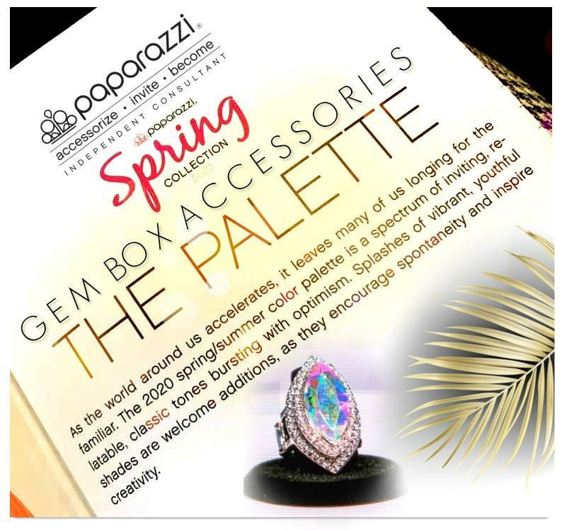 Empower Me Pink 2020 - The Spring Pantone Color Palette for Paparazzi! - Gem Box Accessories