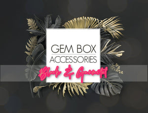 Paparazzi Jewelry | Black and Gunmetal Items | Gem Box Accessories