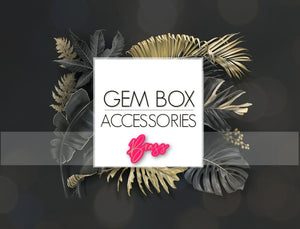 Paparazzi Jewelry |  Brass Items | Gem Box Accessories