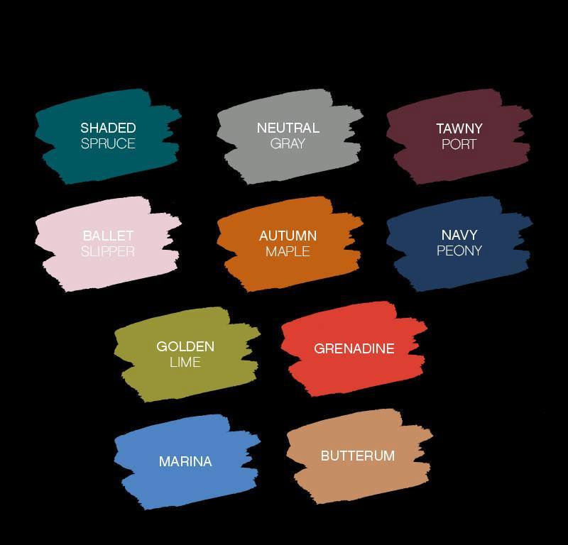 Paparazzi Jewelry | Pantone Color Palette for Fall | Gem Box Accessories