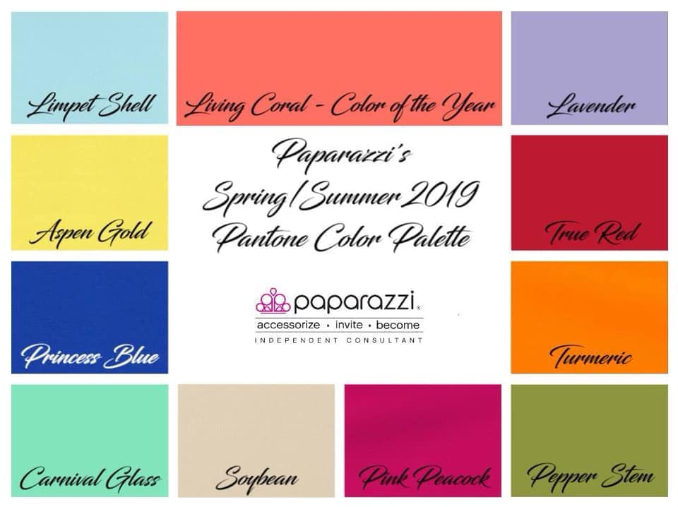 Paparazzi Jewelry | Pantone Color Palette for Spring | Gem Box Accessories