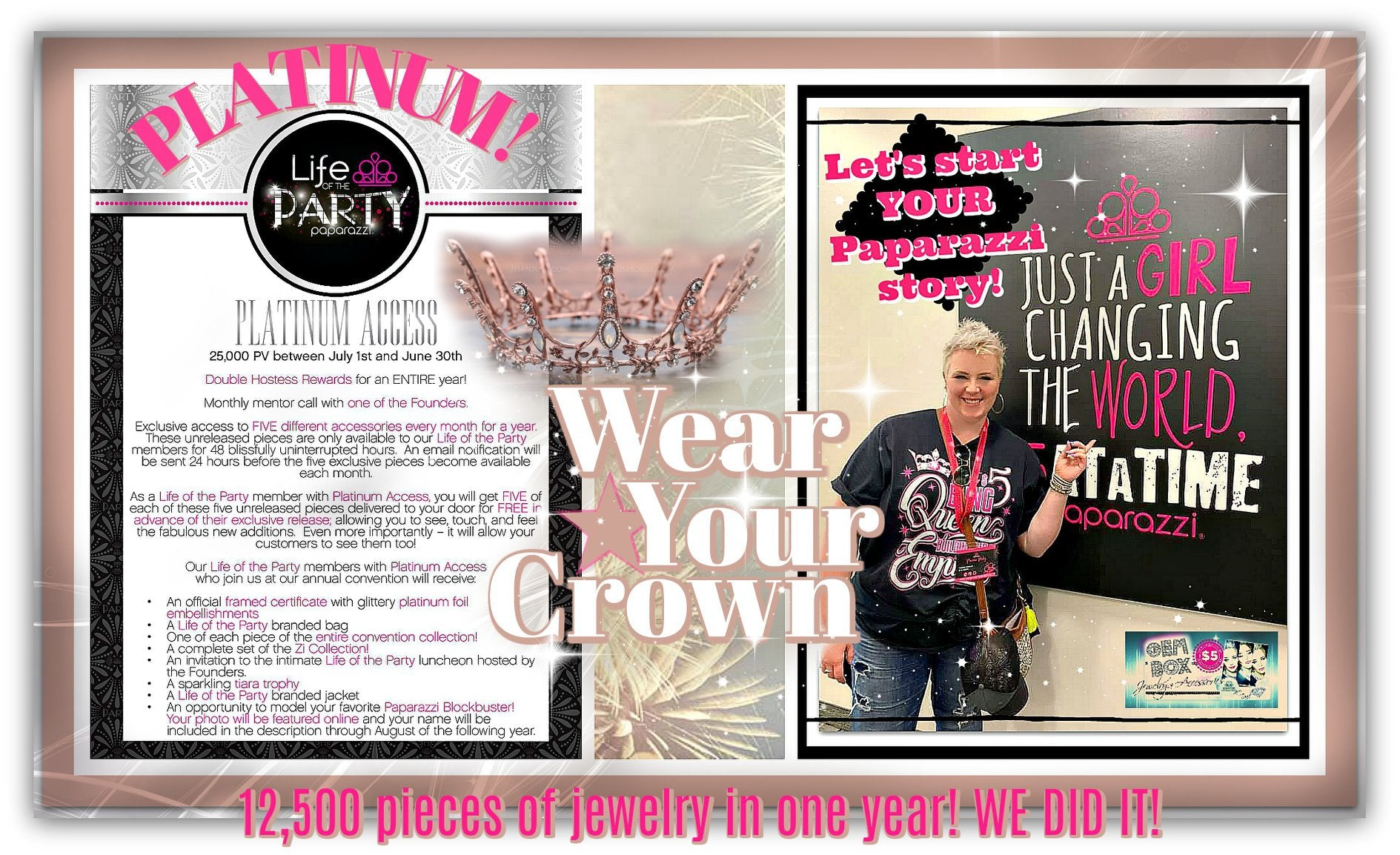 Paparazzi Jewelry | Consultant Rank & Awards | Gem Box Accessories