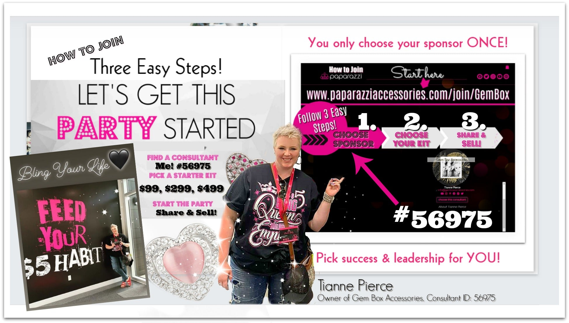 Paparazzi Jewelry | Which Paparazzi Starter Kit Is Best To Join | Gem Box Accessories