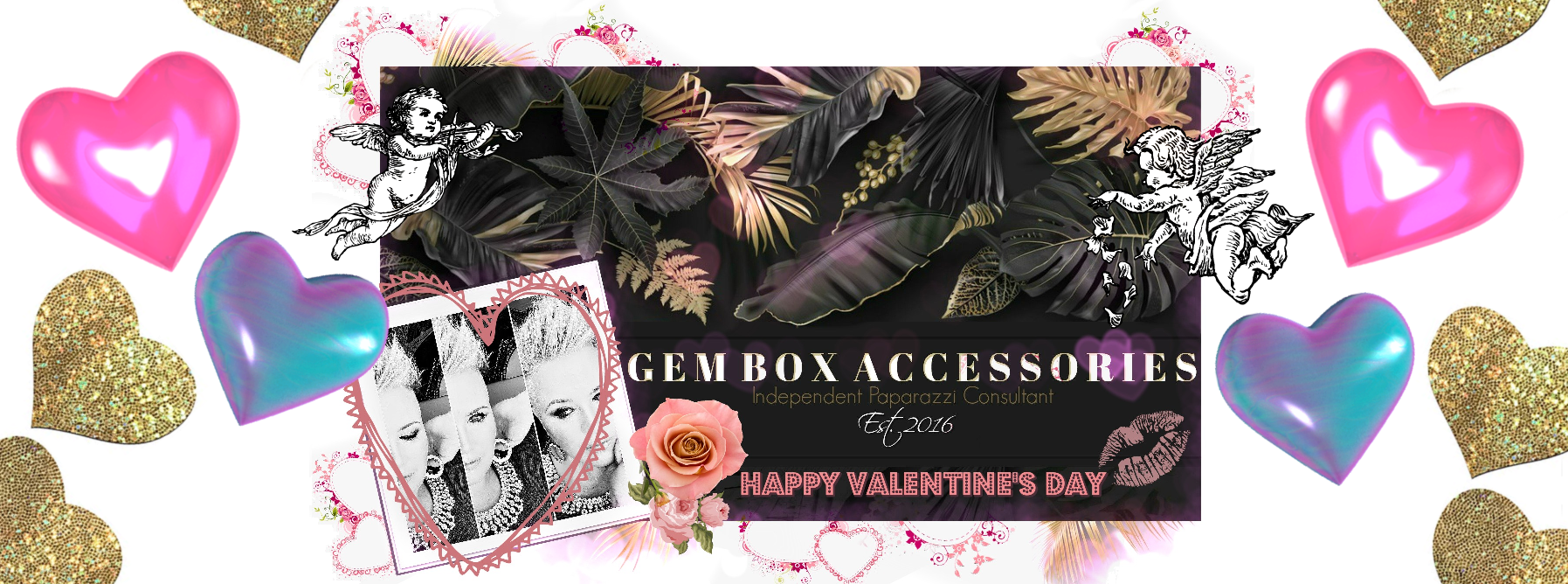 Paparazzi Jewelry | Valentine's Day Boutique Red, Pink, & Heart Items | Gem Box Accessories