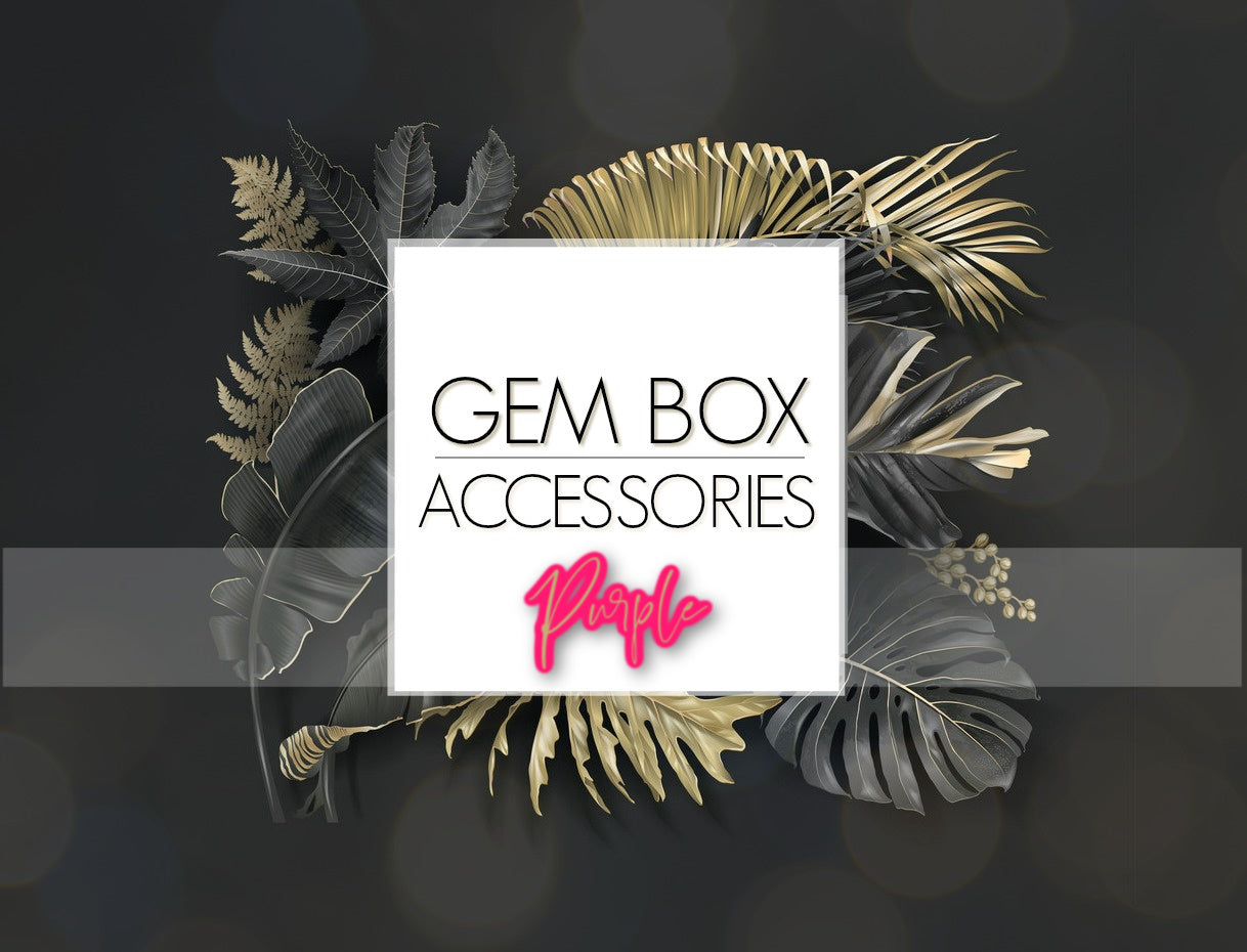 Paparazzi Jewelry | Purple Items | Gem Box Accessories