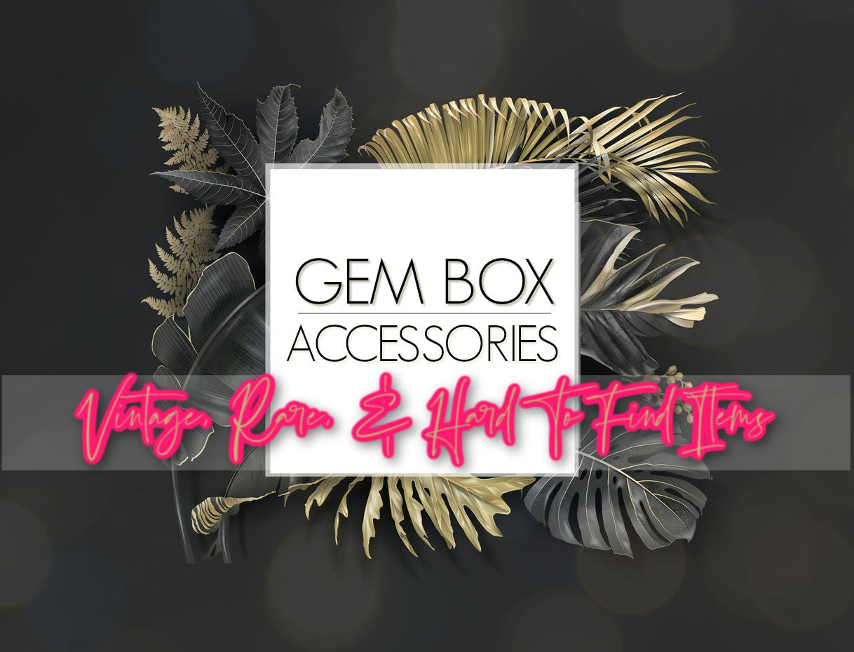 Paparazzi Jewelry | Vintage Rare & Hard To Find Pieces | Gem Box Accessories