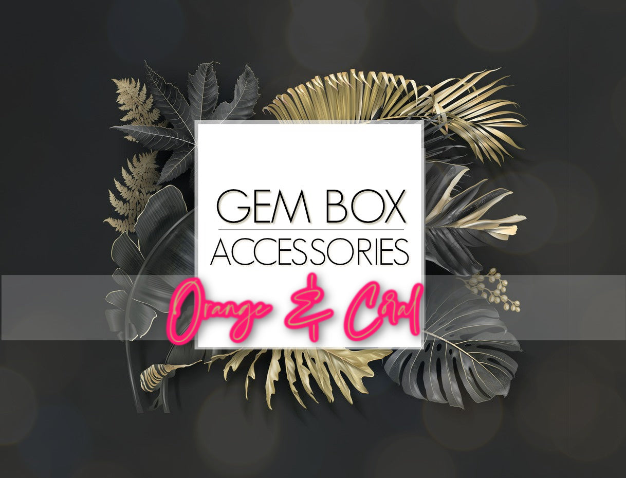 Paparazzi Jewelry | Orange & Coral Items | Gem Box Accessories