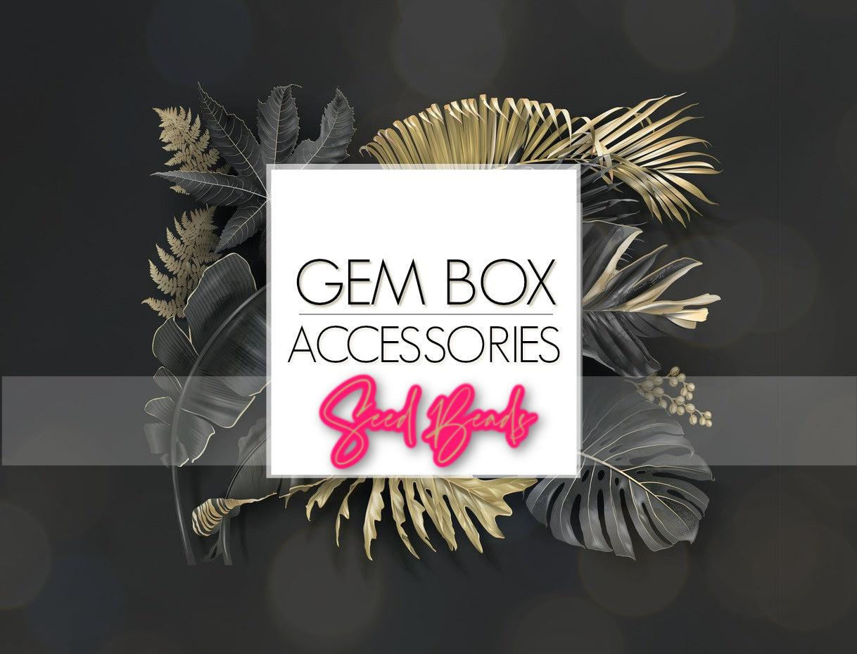 Paparazzi Jewelry | Seed Bead Items | Gem Box Accessories