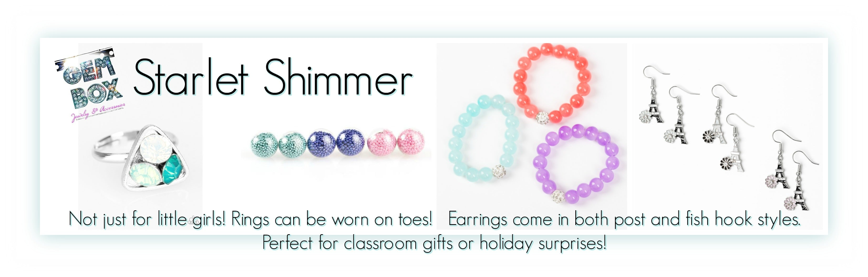 Paparazzi Jewelry | Starlet Shimmer Youth, Kid's, & Little Girl's Items | Gem Box Accessories
