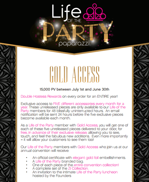 Paparazzi Jewelry | Life of the Party | Gem Box Accessories
