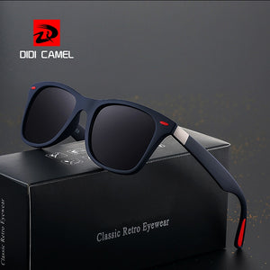 bc84119ce4 BRAND DESIGN Classic Polarized Sunglasses Men Women Driving Square Frame  Sun Glasses Male Goggle UV400 Gafas