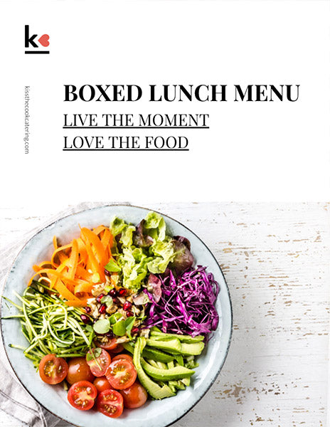 Download Boxed Lunch Menu