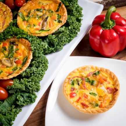 Individual Quiche Breakfast