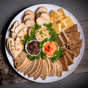 Bread and dips2