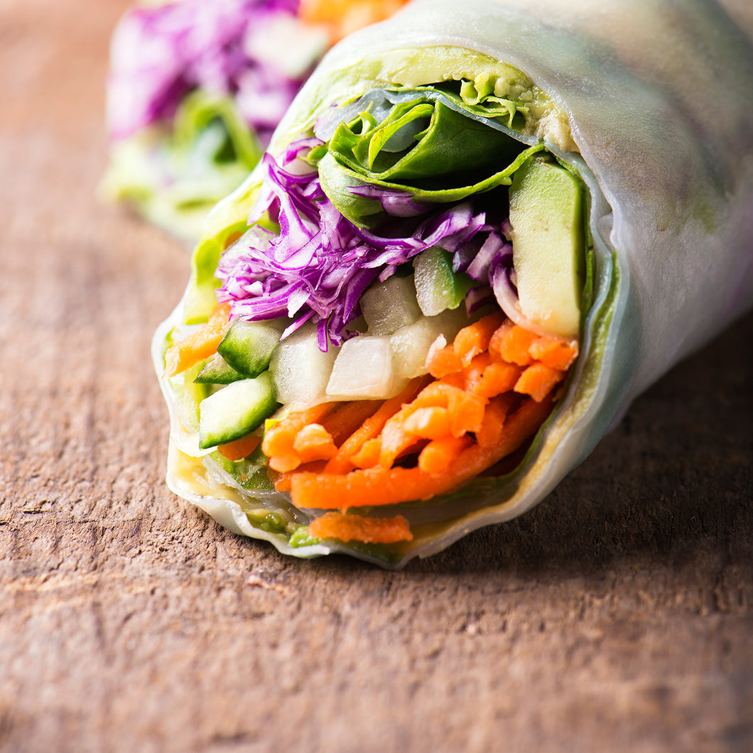 Avocado Salad Rolls
