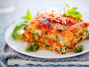 Spinach and Ricotta Lasagna (V)