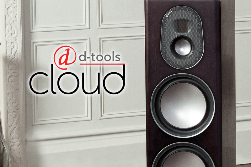 Monitor Audio On D-Tools Cloud