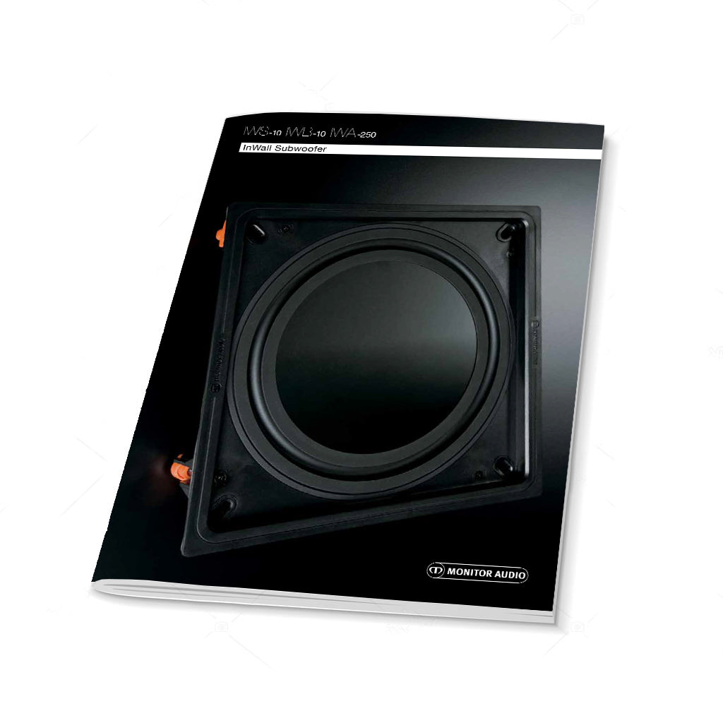 In-Wall Subwoofer Flyer
