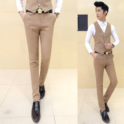 Formal St right Legged Suit Pants