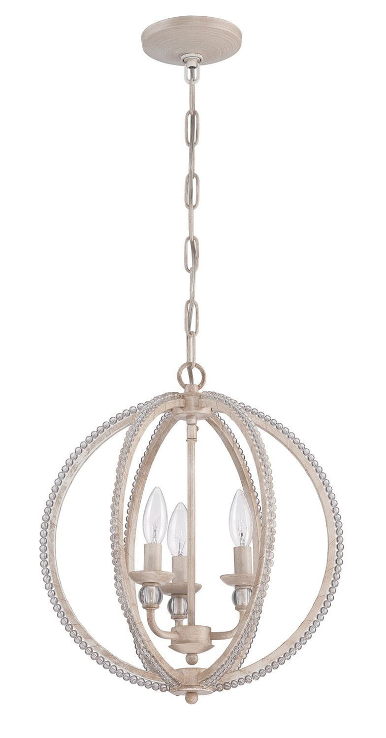 Antique Linen Mini Chandelier by Craftmade 1043C-ATL