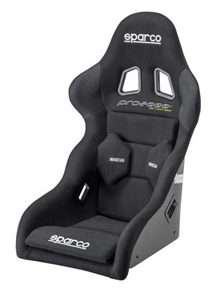 Sparco Pro 2000 II Black Fixed Bucket Seat - Frp - Black-008273FNR - Rzcrewgarage