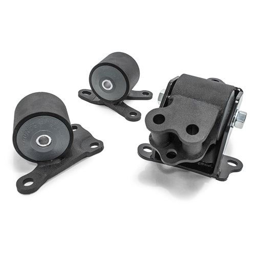 Steel Black (3 Bolts) Engine Mount Kit ( 85A Gry) - EK(All) - 10051-85A - RzcrewEurope.com