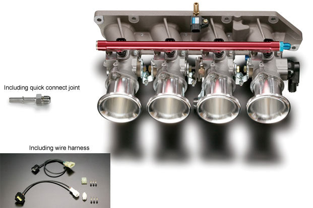 Increase Horse Power and torque with this Toda Racing Independent Throttle Body Kit (63mm) - Honda - Accord Euro R CL7. The Best JDM Parts in Europe are on RzcrewEurope.com!