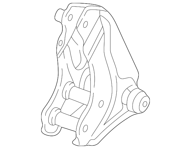 Rear Engine Mount Bracket - DC5R - 50827-S7C-000 - RzcrewEurope.com